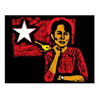Aung San Suu Kyi Postcards