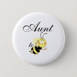 Aunt 2 be 6 cm round badge