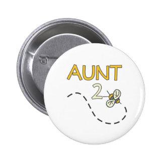Aunt 2 Bee 6 Cm Round Badge