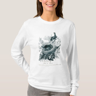 Aunt Abby's Birds Sketch T Shirt