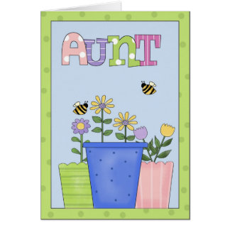 Aunt All Occasion Greeting Card