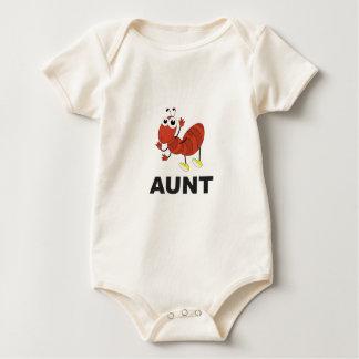 aunt ant fun baby bodysuit
