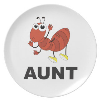 aunt ant fun plate