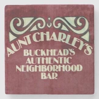 Aunt Charley's, Buckhead Atlanta Marble Stone Coas Stone Coaster