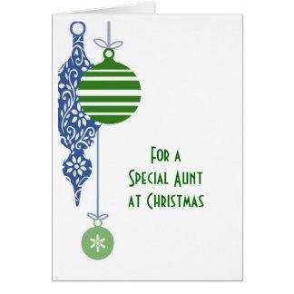 Aunt Christmas Christmas Card