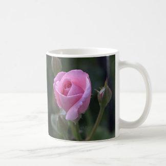 Aunt Dorothy's Pink Rose Coffee Mug