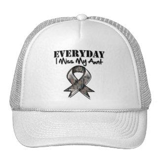Aunt - Everyday I Miss My Hero Military Cap