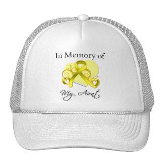 Aunt - In Memory of Military Tribute Mesh Hat