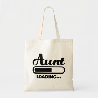 Aunt loading tote bags