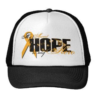 Aunt My Hero - Leukemia Hope Trucker Hat