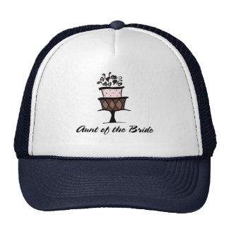 Aunt of the Bride Cake Trucker Hat
