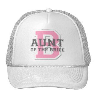 Aunt of the Bride Cheer Cap