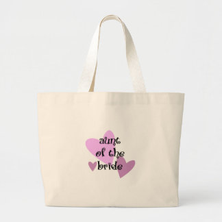 Aunt of the Bride Canvas Bag