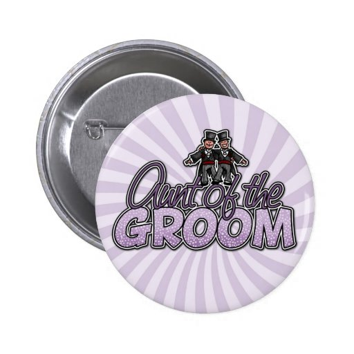 aunt of the groom button