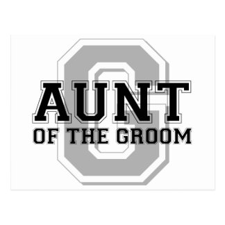 Aunt of the Groom Cheer Postcards