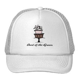 Aunt of the Groom Mesh Hat