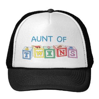 Aunt of Twins Blocks Cap