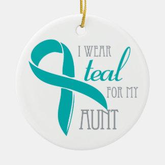Aunt - Ovarian Cancer Ornament