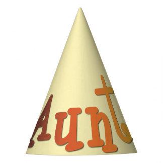 Aunt Party Hat