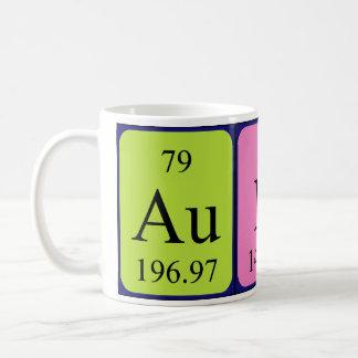 Aunt periodic table name mug