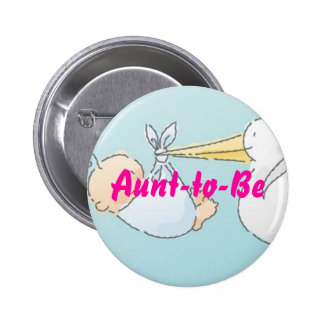 Aunt-to-Be 6 Cm Round Badge