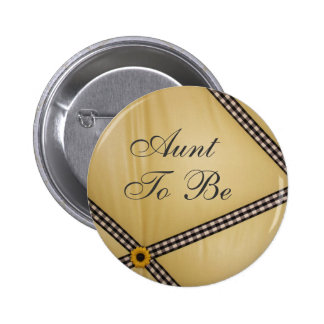 Aunt To Be Bumble Bee Pin
