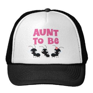 Aunt to Be Gift Idea Cap