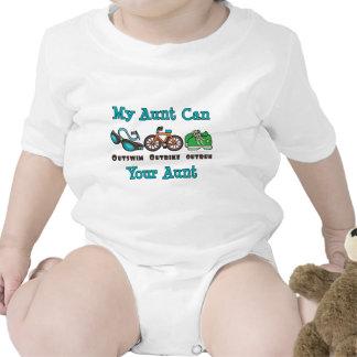 Aunt Triathlon Baby Bodysuit