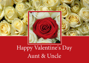 Happy Valentines Day Aunt Uncle Gifts On Zazzle Au