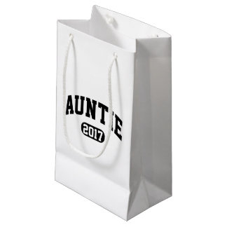 Auntie 2017 small gift bag