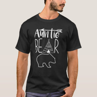Auntie Bear Graphic Teepee and Arrow T-shirt