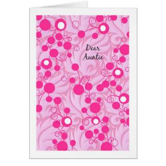 Auntie Birthday Card