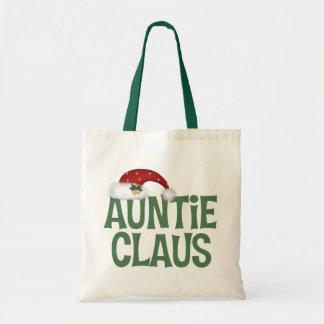 Auntie Claus Tote Bag
