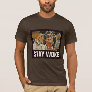 "Auntie Maxine ""Stay Woke"" #2 Anti-Trump Political T-Shirt"