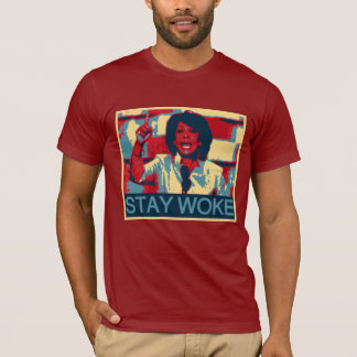 "Auntie Maxine ""Stay Woke"" Anti-Trump Political T-Shirt"
