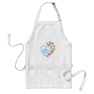 Auntie Special Heart Standard Apron
