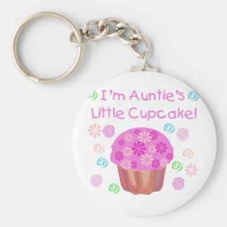 Auntie's Cupcake Key Chain