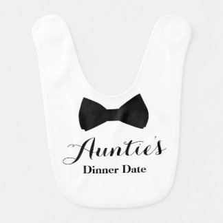 Auntie's Dinner Date Bib