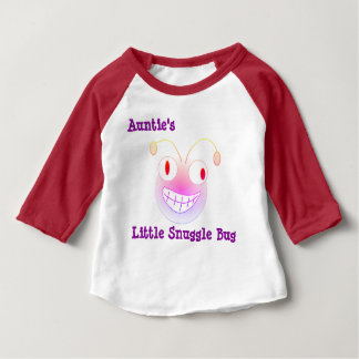 Auntie's Little Snuggle Bug Baby T-Shirt