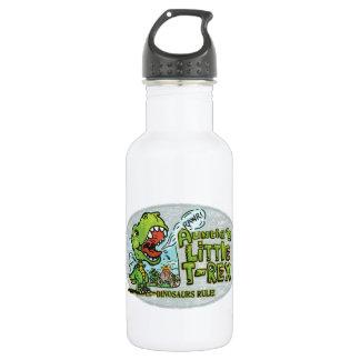 Auntie's Little T Rex Oval 532 Ml Water Bottle