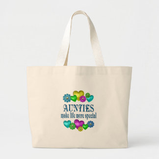 Aunties More Special Large Tote Bag