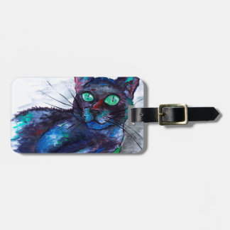 Aunt's Beautiful Companion, Ms. Biscuit Luggage Tag