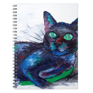 Aunt's Beautiful Companion, Ms. Biscuit Spiral Notebook