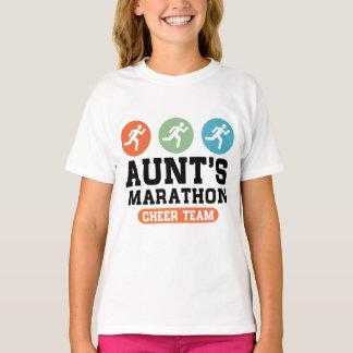 Aunt's Marathon Cheer Team T-Shirt