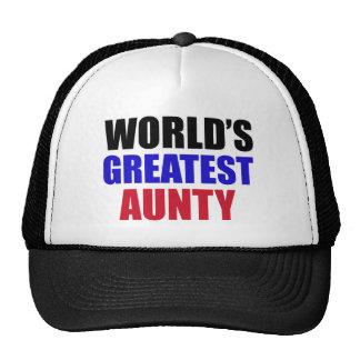 Aunty design cap