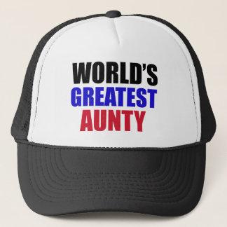 Aunty design trucker hat
