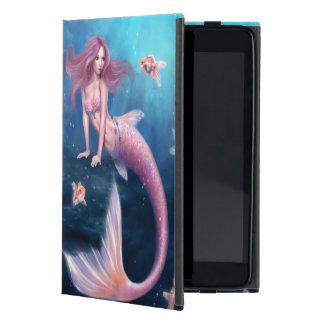 Aurelia Goldfish Mermaid Art iPad Mini Case