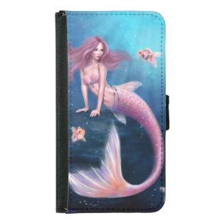 Aurelia Goldfish Mermaid Galaxy S5 Wallet Case