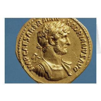 Aureus  of Hadrian Card