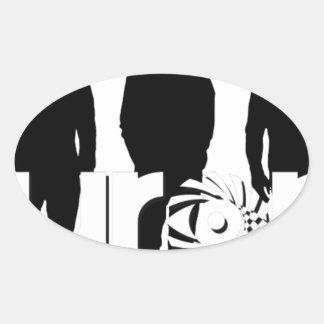 Aurora 2017 NEW_Background3 Oval Sticker